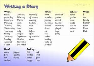 Diary writing help st stephen39s c of e primary school for Diary writing template ks1