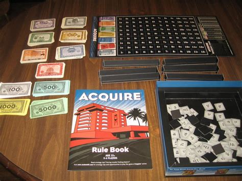 14 Best Acquire Board Game Images On Pinterest