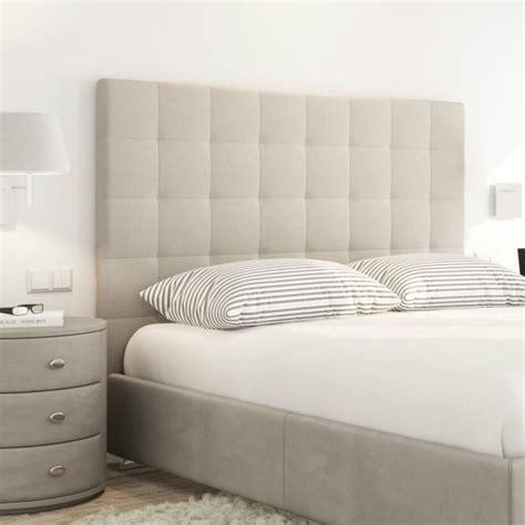 tete de lit capitonnee 140 sogno t 234 te de lit capitonn 233 e style contemporain tissu beige l 140 cm achat vente t 234 te de