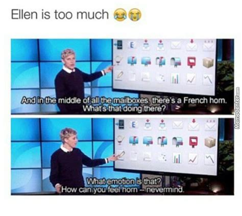 Ellen Meme - ohhh ellen i love this show by slayer76751 meme center