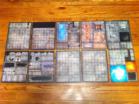 4e 4e essentials dungeon tiles master set the dungeon tile