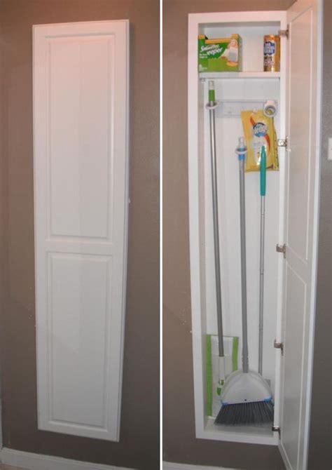 broom closet storage solutions  kitchens   size