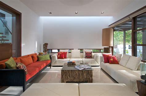 timeless contemporary house  india  courtyard zen garden idesignarch interior design