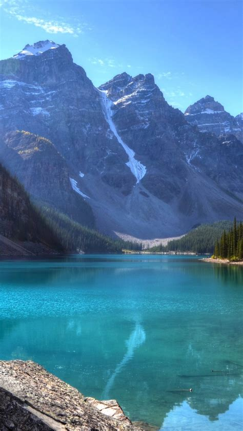wallpaper lake  hd wallpaper mountains forest pine