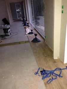 pose d39un parquet chene colle sur plancher chauffant With pose d un parquet collé
