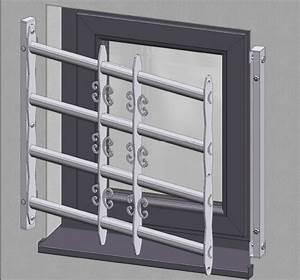 Fenster Ohne öffnungsfunktion : ausziehbares fenstergitter aus edelstahl h he 600mm ~ Sanjose-hotels-ca.com Haus und Dekorationen
