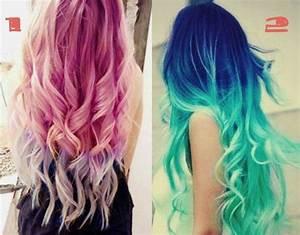 Image Gallery neon hair dye
