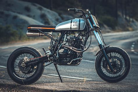 High & Mighty. Duke Motorcycles' Stunning Honda Xr600