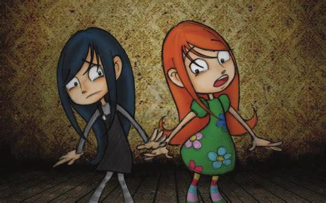 Black Twin Cartoon Characters