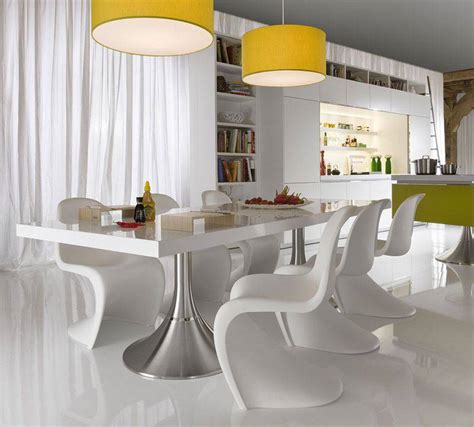 modern white kitchen table modern dining room sets as one of your best options
