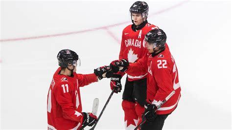 U20 PČ: Kanāda iemet desmit Šveicei un turpina perfekti - Hokejs - Sportacentrs.com
