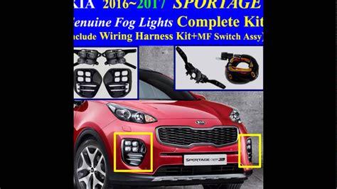 Kia Sportage Led Fog Light Lamp Complete Kit