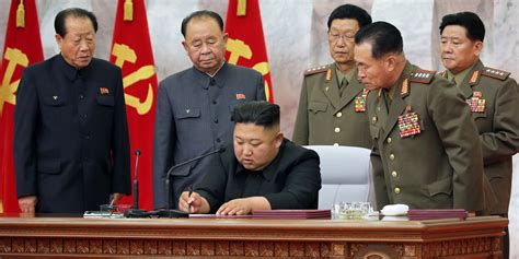 Kim jong un is the current supreme leader of north korea, rising to power after his father, kim jong il, died in 2011. North Korea's Kim Jong Un holds meeting on bolstering ...