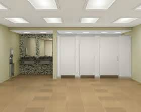 Bathroom Stall Dividers Material by Floor To Ceiling Braced Commercial Bathroom Partitions