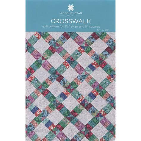 missouri quilt pattern crosswalk pattern by msqc missouri quilt co