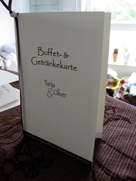 buffet und getraenkekarte papeterie menuekarte