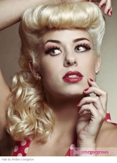 pictures prom and homecoming hairstyles chic pin up