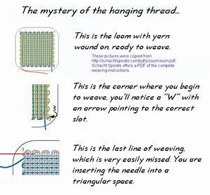 Pin Loom Weaving  January 2016