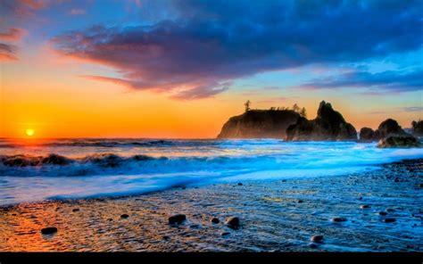 Sunset Beaches Wallpapers