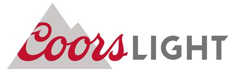 Coors Light Font by File Coors Light Logo Svg Wikimedia Commons