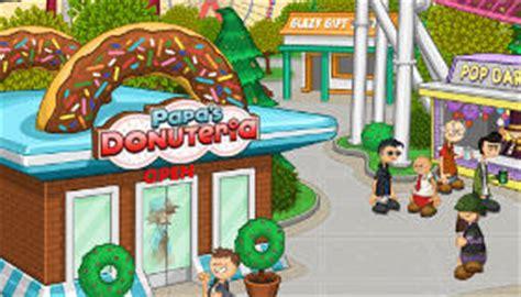 jeux de cuisine papa louis jeu papa s fait des donuts gratuit jeux 2 filles