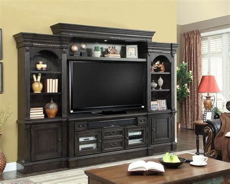 parker house tv entertainment center wall unit fairbanks