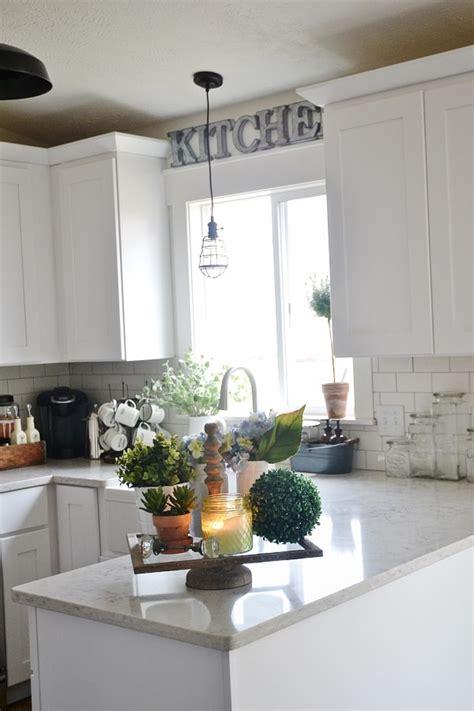 farmhouse kitchen tray liz marie blog