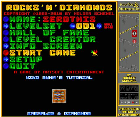rocks n diamonds 1998 by artsoft entertainment linux