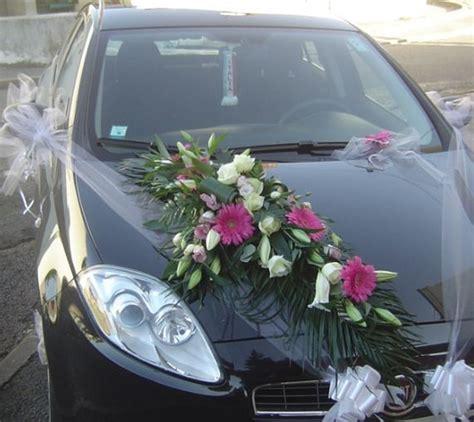 decoration voiture mariage floralys 01 floralys artisan fleuriste bourgogne saone et loire 71 le