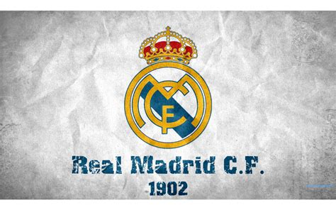 real madrid cf  logo wallpapers