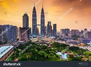Kuala Lumpur, Malaysia Skyline. Stock Photo 337521797 ...
