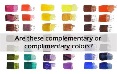 is it complimentary or complementary colors why celebrating color
