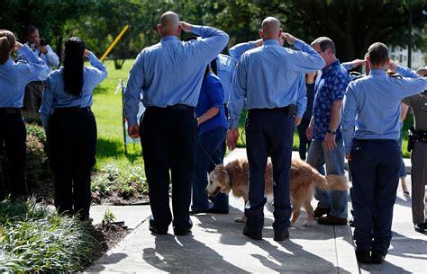 search dog euthanized  houston area