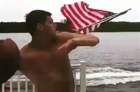 mason rudolph completes awesome jet ski trick pass video