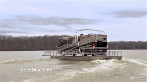 Boat N Rv by Rollerboat Roller Boat Is The Hibious Rv Rental