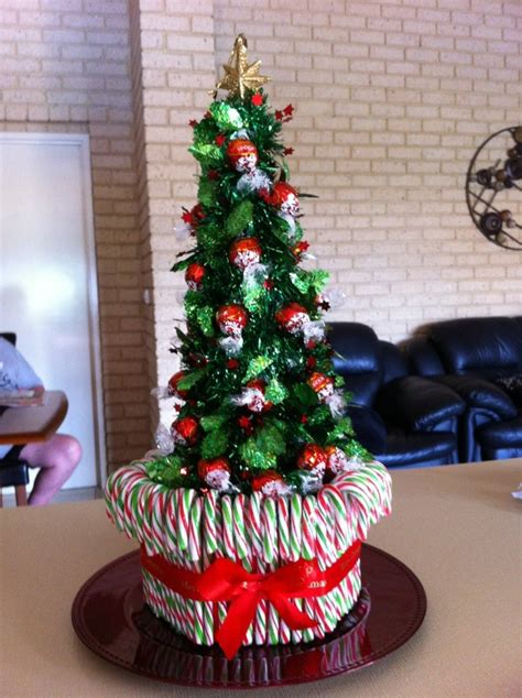 my lolly christmas tree candy bar pizza pinterest