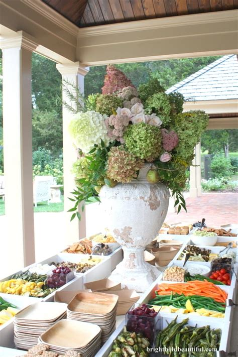 Outdoor Party Ideas  End Of Summer Bash  Bright Bold And