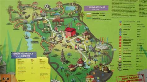 foto de bali safari marine park gianyar park map