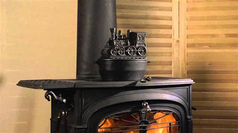 train woodstove steamer sku plow hearth youtube
