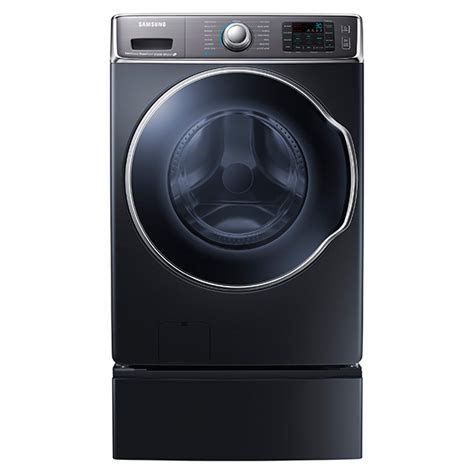 samsung  cuft big capacity steam washer onyx  appliance outlet