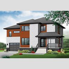 Small 3 Bedroom Modern House Plans — Modern House Plan