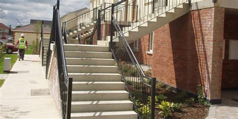 precast stairs combined stairs  landing units