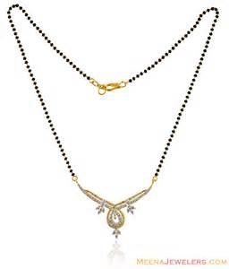 diamond studded earrings fancy 2 tone diamond mangalsutra dima14699 us 2 281
