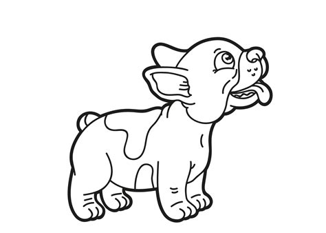 Domme Hond Kleurplaat by For Coloring Coloring Pages