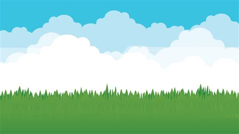 clouded grassland background  teamspaceycore gamemaker