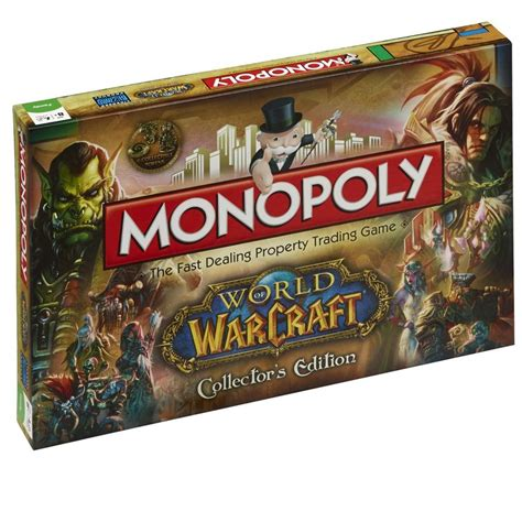 world  warcraft monopoly board game