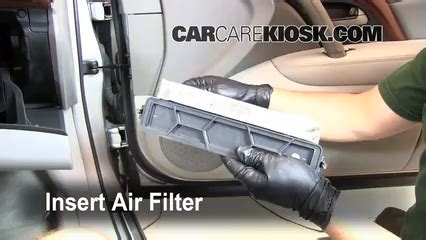 automotive air conditioning repair 2008 acura rl auto manual cabin filter replacement acura rl 2005 2008 2008 acura rl 3 5l v6