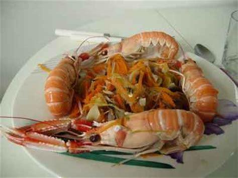 cuisiner des langoustines recette cuire les langoustines 750g