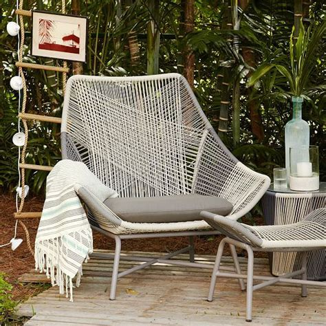 huron outdoor large lounge chair cushion