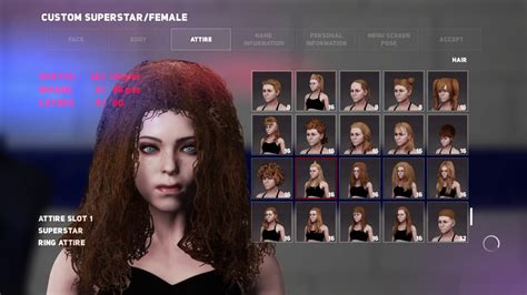 wwe   created female character hairstyles  hairs ps pro  youtube